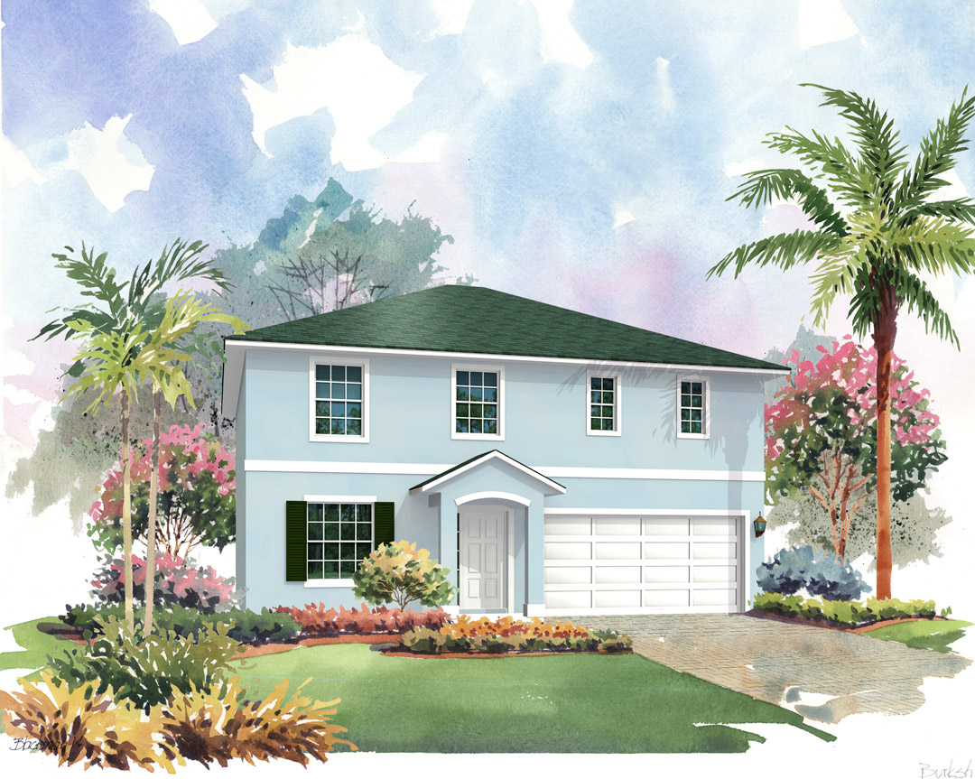 Berkshire 2177 by Renar Homes - Rendering 2