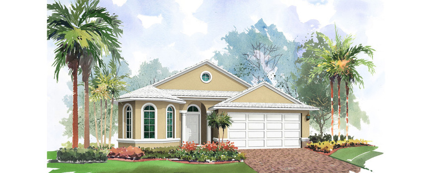 Bermuda 1796 by Renar Homes - Artist Rendering 3