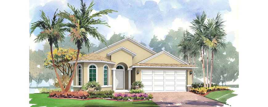 Bermuda 1796 by Renar Homes - Artist Rendering 1