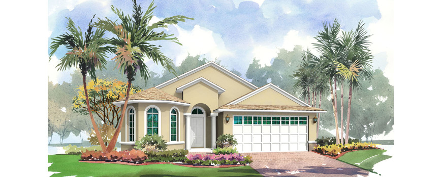 Bermuda 1860 by Renar Homes - Artist Rendering 1