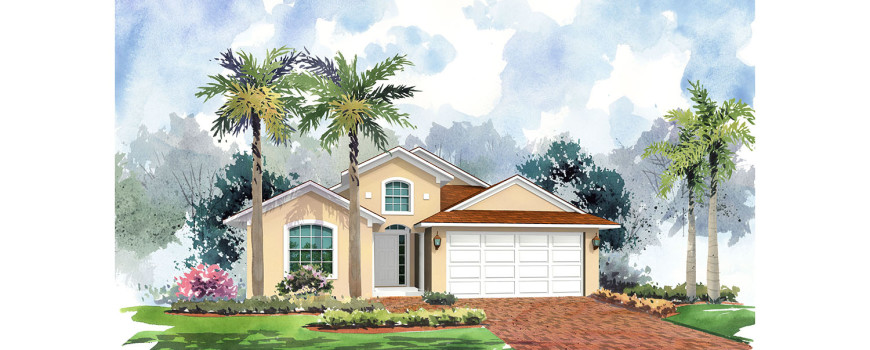 Rendering 4 - Cayman 1763 by Renar Homes