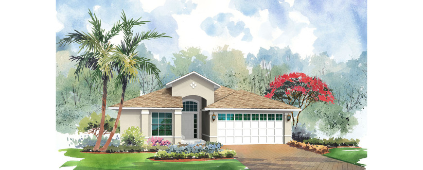 Cayman 1844 by Renar Homes - Artist Rendering A