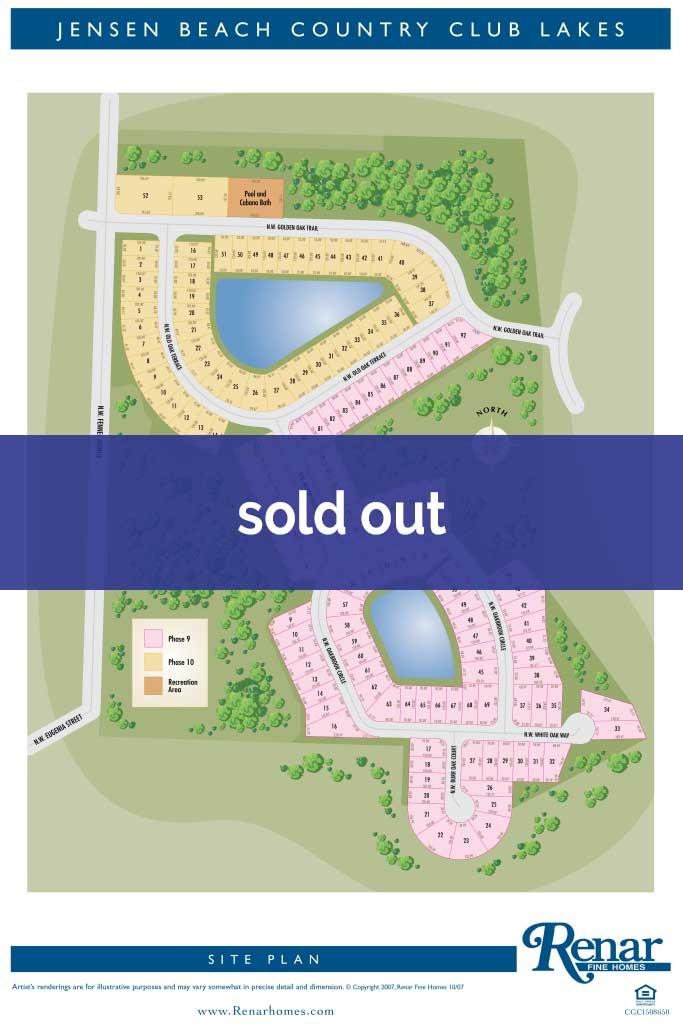 Jensen Beach Plot Map