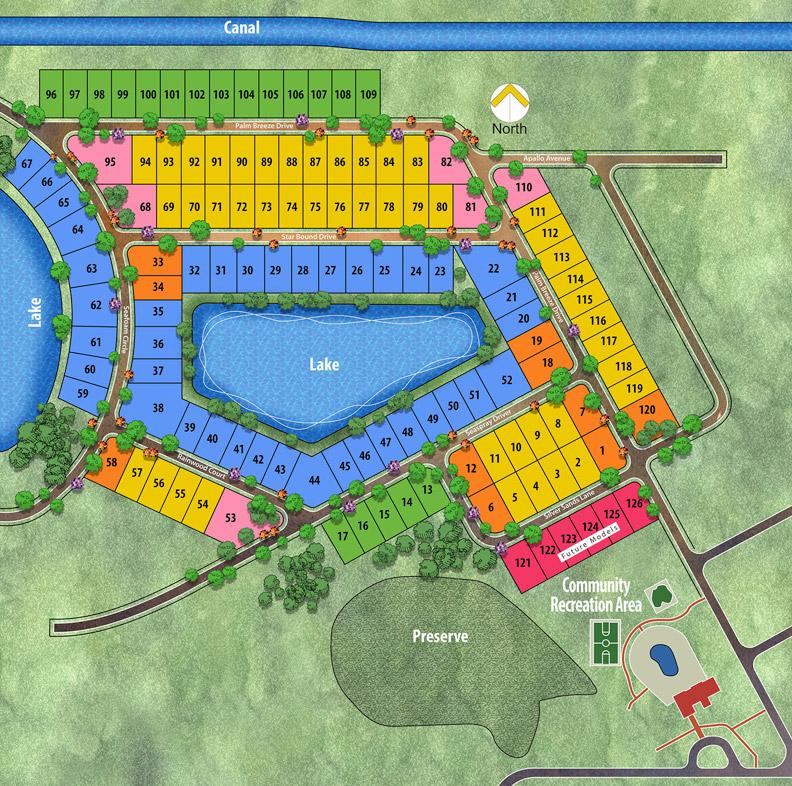 Morningside by Renar Homes - Plot Map