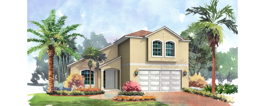 Seamist 2215 by Renar Homes - Artist Rendering 7